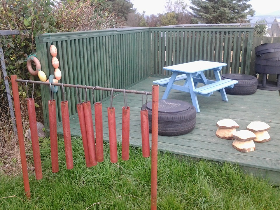 Picture of our Pre 5 garden developments